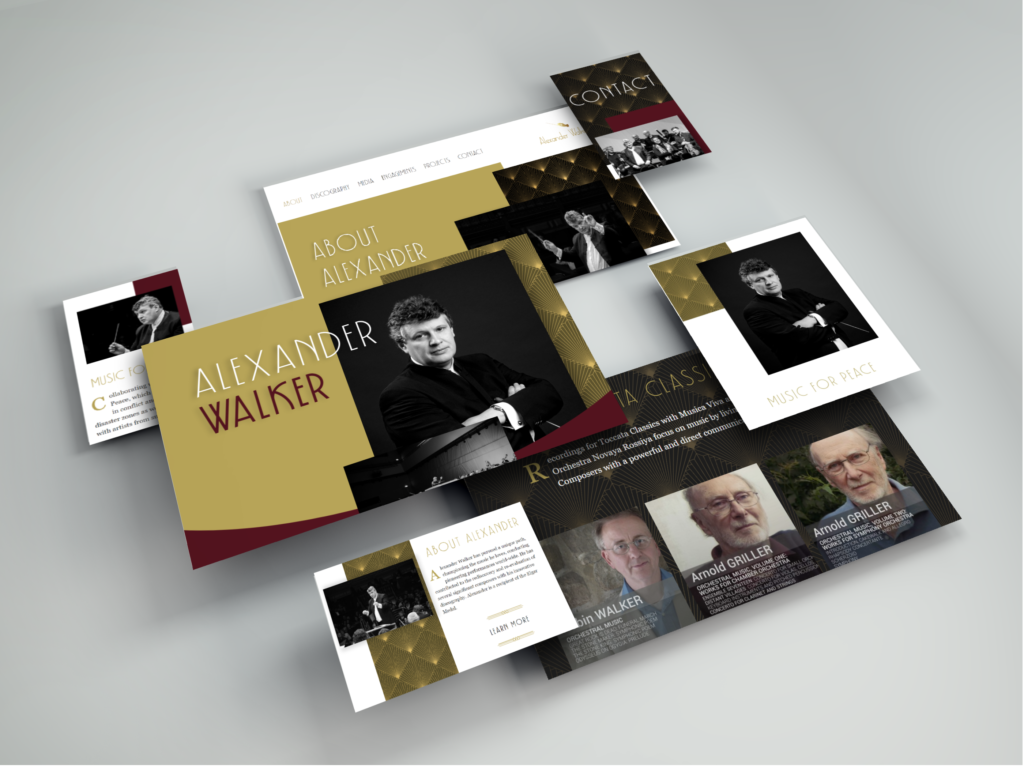 Alexander Walker Website